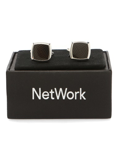 NetWork Kol Düğmesi Siyah
